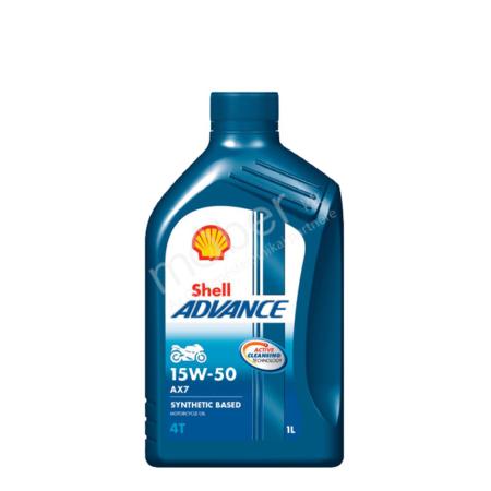 Shell Advance 4T AX7 15W50