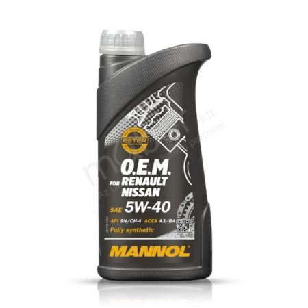 Mannol OEM 5W-40 (7705 Renault - Nissan) 1L