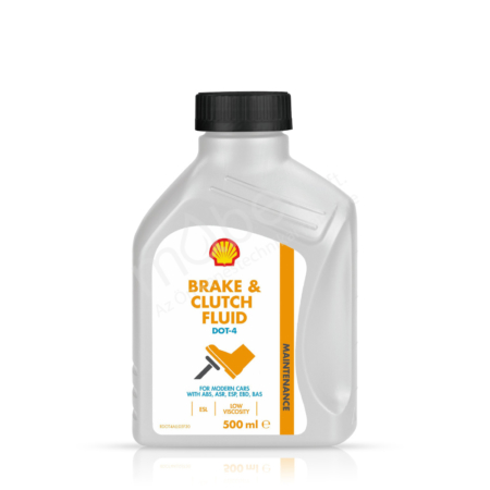 Shell Brake & Clutch Fluid DOT 4 ESL 500ml