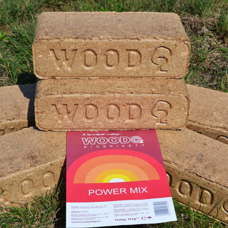 Wood O2 - Bio Fabrikett 10kg